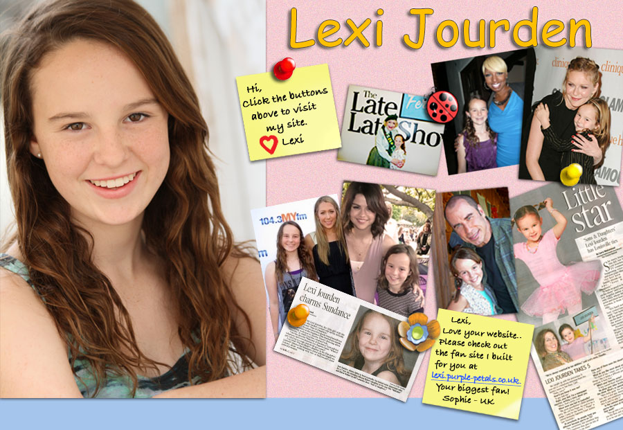Lexi Jourden Home Page