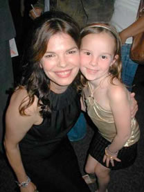 Lexi with Jeanne Tripplehorn